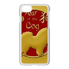 Year Of The Dog   Chinese New Year Apple Iphone 8 Seamless Case (white)