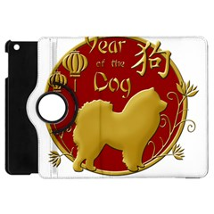Year Of The Dog   Chinese New Year Apple Ipad Mini Flip 360 Case