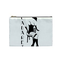 Cabaret Cosmetic Bag (medium)  by Valentinaart