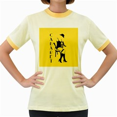 Cabaret Women s Fitted Ringer T Shirts