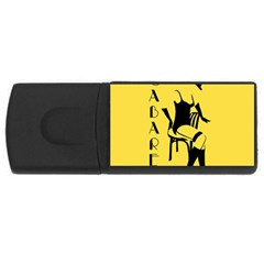 Cabaret Rectangular Usb Flash Drive
