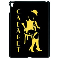 Cabaret Apple Ipad Pro 9 7   Black Seamless Case by Valentinaart