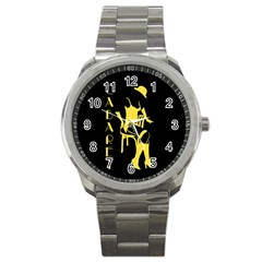 Cabaret Sport Metal Watch