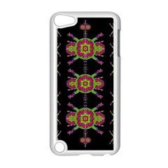 Paradise Flowers In A Decorative Jungle Apple Ipod Touch 5 Case (white) by pepitasart