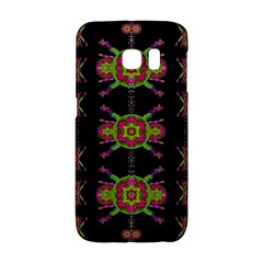 Paradise Flowers In A Decorative Jungle Galaxy S6 Edge by pepitasart