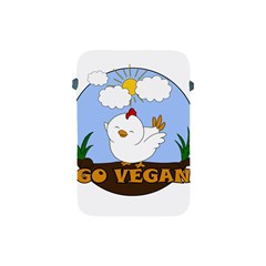 Go Vegan   Cute Chick  Apple Ipad Mini Protective Soft Cases