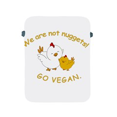 Go Vegan   Cute Chick  Apple Ipad 2/3/4 Protective Soft Cases