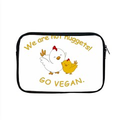 Go Vegan   Cute Chick  Apple Macbook Pro 15  Zipper Case by Valentinaart