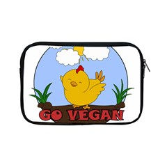 Go Vegan   Cute Chick  Apple Ipad Mini Zipper Cases