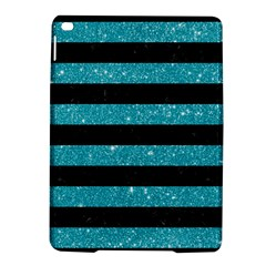 Stripes2black Marble & Turquoise Glitter Ipad Air 2 Hardshell Cases by trendistuff