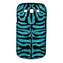 Skin2 Black Marble & Turquoise Glitter Samsung Galaxy S Iii Classic Hardshell Case (pc+silicone) by trendistuff