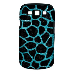Skin1 Black Marble & Turquoise Glitter Samsung Galaxy S Iii Classic Hardshell Case (pc+silicone) by trendistuff