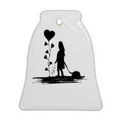 Sowing Love Concept Illustration Small Bell Ornament (two Sides) by dflcprints
