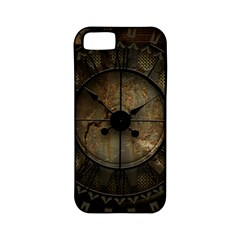 Steampunk, Wonderful Noble Steampunnk Design Apple Iphone 5 Classic Hardshell Case (pc+silicone) by FantasyWorld7