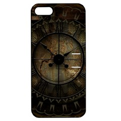 Steampunk, Wonderful Noble Steampunnk Design Apple Iphone 5 Hardshell Case With Stand by FantasyWorld7