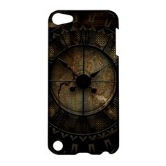 Steampunk, Wonderful Noble Steampunnk Design Apple Ipod Touch 5 Hardshell Case by FantasyWorld7