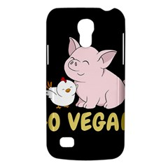 Go Vegan   Cute Pig And Chicken Galaxy S4 Mini