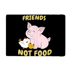 Friends Not Food   Cute Pig And Chicken Apple Ipad Mini Flip Case by Valentinaart