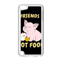 Friends Not Food   Cute Pig And Chicken Apple Ipod Touch 5 Case (white) by Valentinaart