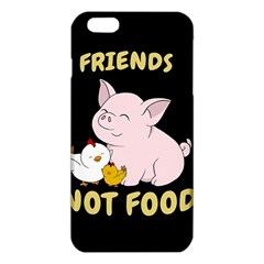 Friends Not Food   Cute Pig And Chicken Iphone 6 Plus/6s Plus Tpu Case by Valentinaart