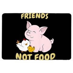 Friends Not Food   Cute Pig And Chicken Ipad Air 2 Flip