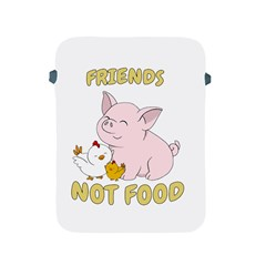Friends Not Food   Cute Pig And Chicken Apple Ipad 2/3/4 Protective Soft Cases