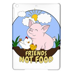 Friends Not Food   Cute Pig And Chicken Ipad Air Hardshell Cases