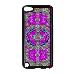 Spring Time In Colors And Decorative Fantasy Bloom Apple Ipod Touch 5 Case (black) by pepitasart