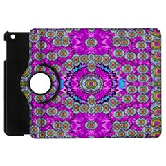 Spring Time In Colors And Decorative Fantasy Bloom Apple Ipad Mini Flip 360 Case by pepitasart