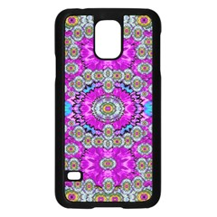 Spring Time In Colors And Decorative Fantasy Bloom Samsung Galaxy S5 Case (black) by pepitasart