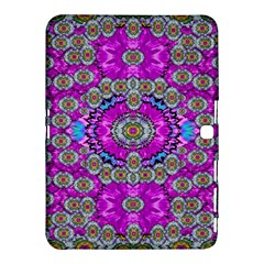 Spring Time In Colors And Decorative Fantasy Bloom Samsung Galaxy Tab 4 (10 1 ) Hardshell Case  by pepitasart