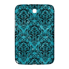 Damask1 Black Marble & Turquoise Glitter Samsung Galaxy Note 8 0 N5100 Hardshell Case  by trendistuff