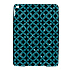Circles3 Black Marble & Turquoise Glitter (r) Ipad Air 2 Hardshell Cases by trendistuff
