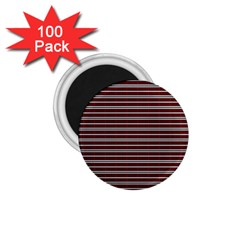 Indian Stripes 1 75  Magnets (100 Pack)  by jumpercat