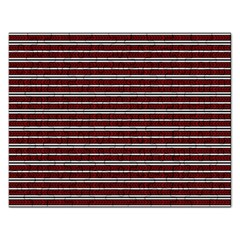 Indian Stripes Rectangular Jigsaw Puzzl by jumpercat