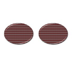 Indian Stripes Cufflinks (oval) by jumpercat