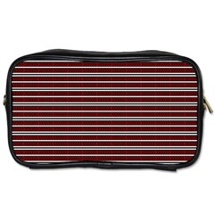 Indian Stripes Toiletries Bags 2 Side
