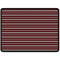 Indian Stripes Fleece Blanket (large)  by jumpercat