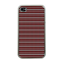 Indian Stripes Apple Iphone 4 Case (clear) by jumpercat