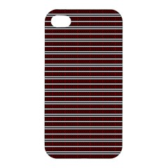 Indian Stripes Apple Iphone 4/4s Premium Hardshell Case by jumpercat