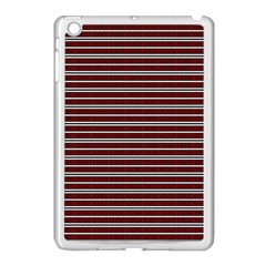 Indian Stripes Apple Ipad Mini Case (white) by jumpercat