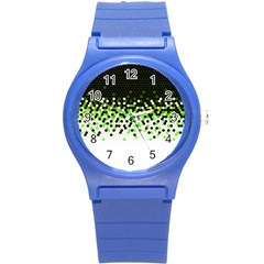 Flat Tech Camouflage Reverse Green Round Plastic Sport Watch (s) by jumpercat