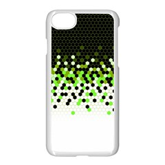 Flat Tech Camouflage Reverse Green Apple Iphone 7 Seamless Case (white) by jumpercat