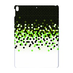 Flat Tech Camouflage Reverse Green Apple Ipad Pro 10 5   Hardshell Case