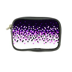 Flat Tech Camouflage Reverse Purple Coin Purse by jumpercat