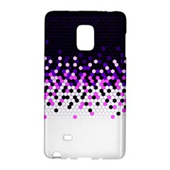 Flat Tech Camouflage Reverse Purple Galaxy Note Edge by jumpercat