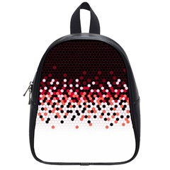 Flat Tech Camouflage Reverse Red School Bag (small) by jumpercat