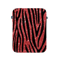 Skin4 Black Marble & Red Glitter (r) Apple Ipad 2/3/4 Protective Soft Cases by trendistuff