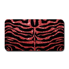 Skin2 Black Marble & Red Glitter (r) Medium Bar Mats by trendistuff