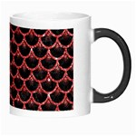 SCALES3 BLACK MARBLE & RED GLITTER (R) Morph Mugs Right